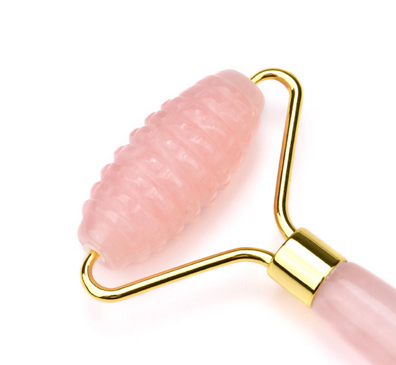 Luxury Rose Quartz Roller