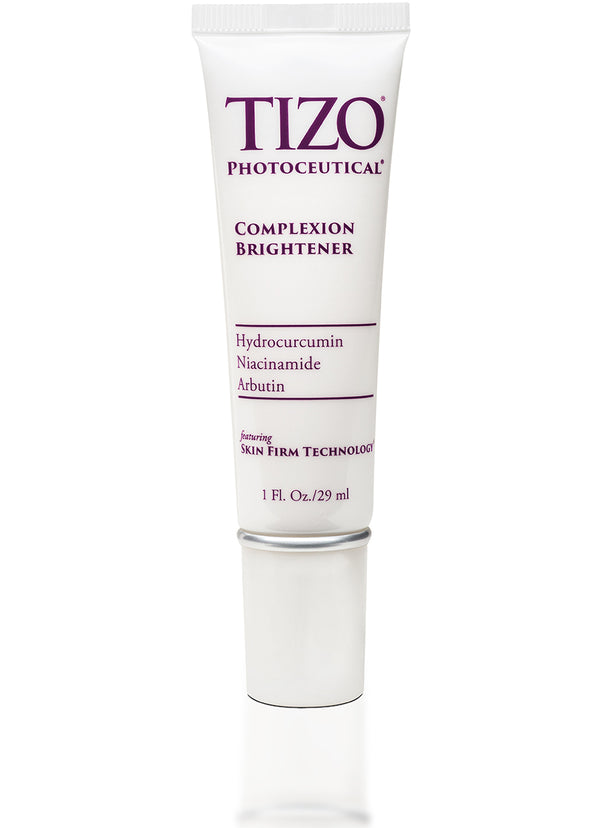TIZO® COMPLEXION BRIGHTENER with three gentle brighteners