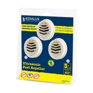 Edialux Ultrasonic Pest Repeller Indoor