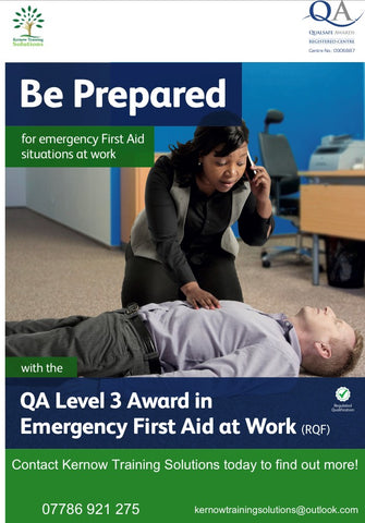 Emergency First Aid at Work - Launceston Golf Club, 15th March