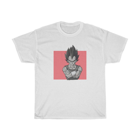 Badman Vegeta Adult Unisex Heavy Cotton Tee