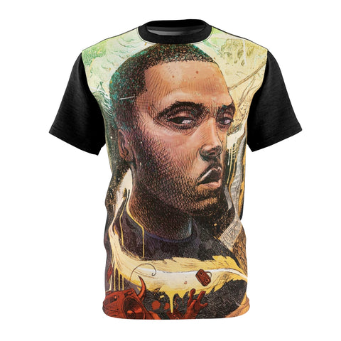 Nas illmatic Queens Sublimated T Shirt