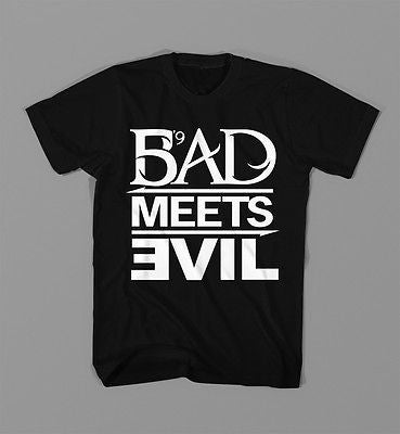 Bad Meets Evil Shady Records T Shirt