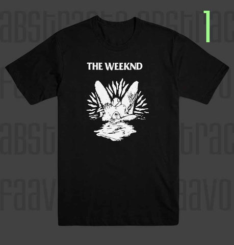 The Weeknd Starboy Deadhead Heart Lust Pop Star R&B T Shirt