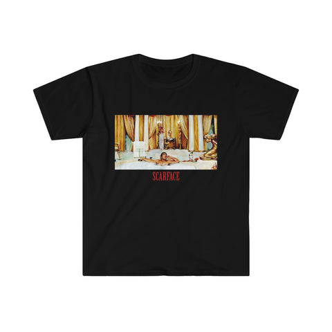 Scarface Bathtub Scene Movie Unisex T-Shirt
