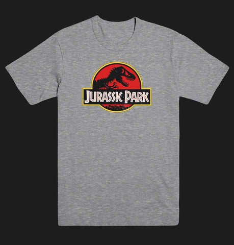 Jurassic Park Movie Logo T REX Unisex T Shirt