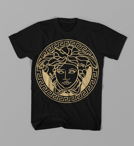 Big Face Medusa Gianni Versace T Shirt
