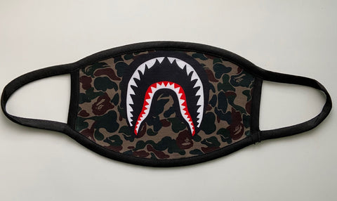Bape Camo Green Mask