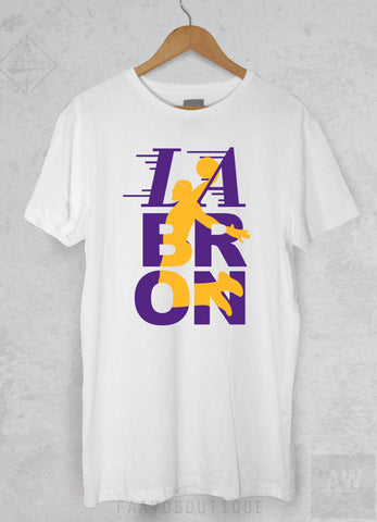 Lebron James Los Angeles LA Lakers 23 Jersey Style Unisex Graphic P2 T Shirt