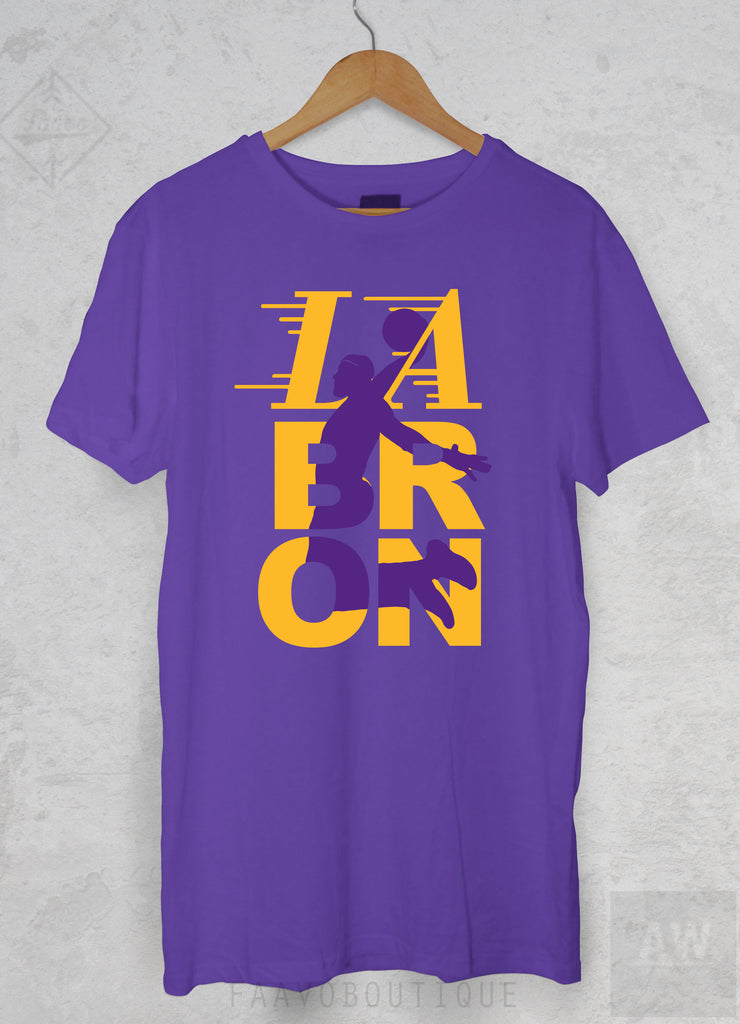 4e359c45f LeBron James Los Angeles LA Lakers 23 Jersey Style Unisex Graphic P2 T –  ABSTRACTO WORLD