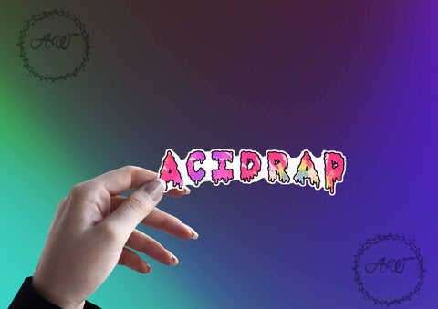 Acid Rap Chicago Rap Concert Tour Hip Hop Sticker Laptop Sticker Vinyl Sticker Vinyl Decal