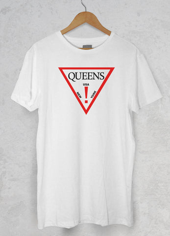 Queens Nas Guess Adult Unisex T Shirt