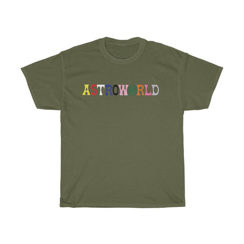 Astroworld La Flame p2 Unisex Heavy Cotton Tee