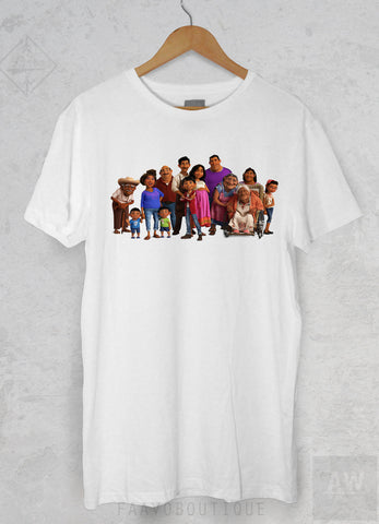 Coco Miguel Movie Family Familia Graphic Tee Unisex T Shirt