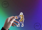 The Goat 23 Funny Meme Sticker Laptop Sticker Vinyl Sticker Vinyl Decal