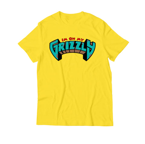Grizzly Tee I'm on My Grizzly Adult Unisex T Shirt