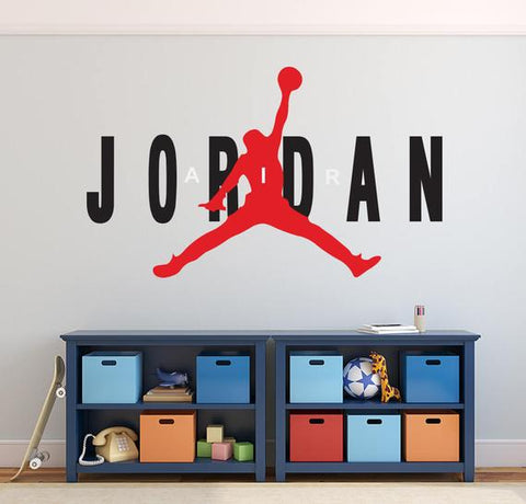Michael Jordan Wall Decal Basketball Wall Decal