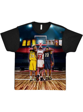 The Goats Basketball Tee Allover Unisex T Shirt