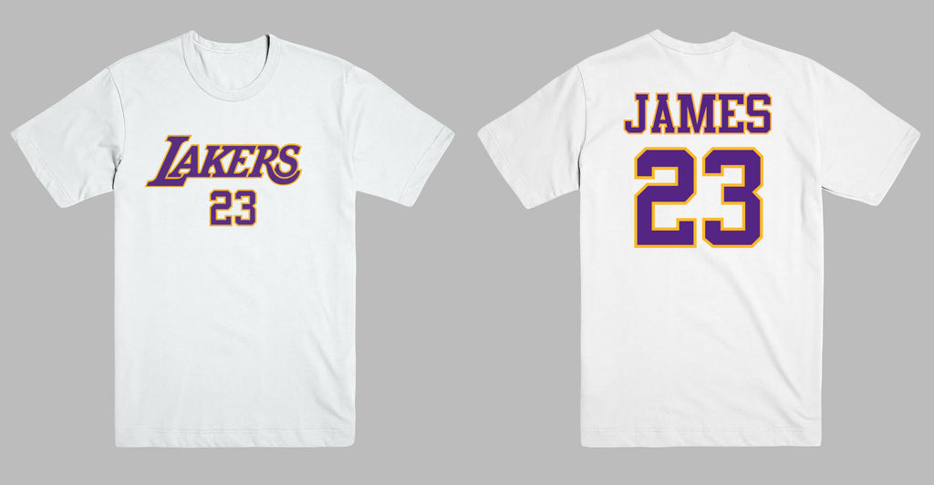 a8010462a LeBron James Los Angeles LA Lakers 23 Jersey Style Men s Graphic T Shi –  ABSTRACTO WORLD
