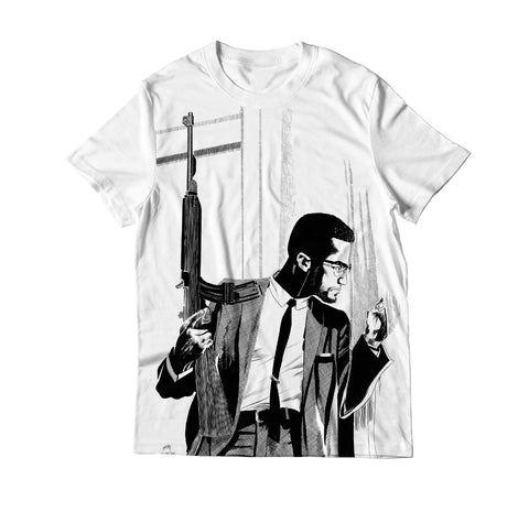 Malcolm X Leadership Human Rights Activist Unisex T Shirt