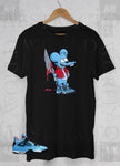 Cactus Jack 4s Itchy the Mouse Air Jordan 4 Adult Unisex T Shirt