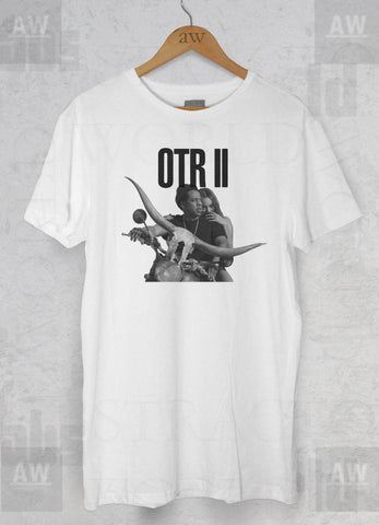 OTR On The Run Beyonce and Jay Z Adult Unisex T Shirt