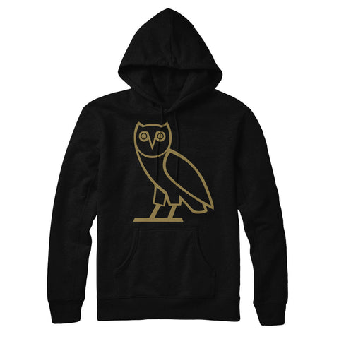 Popular Owl Design Hip Hop Drizzy Pull Over Hoodie