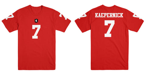 Colin Kaepernick Black Out Tee Adult Unisex T Shirt