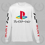 Gamer PS Long Sleeve Adult Unisex T Shirt