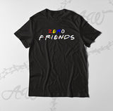 Zero Friends Graphic Tee Adult Unisex T Shirt