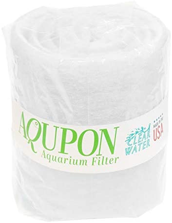 AQUPON Aquarium Filter Pad - Premium Aquarium Filter Media Roll for Clear Water
