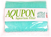 "Load image into Gallery viewer, AQUPON Aquarium Polishing Filter Pad 50 Micron - Ultimate Media Pads - Cut to Fit 24"" by 36"" - for Fish Tanks, Aquaculture, Hydroponics - USA Manufacturer"