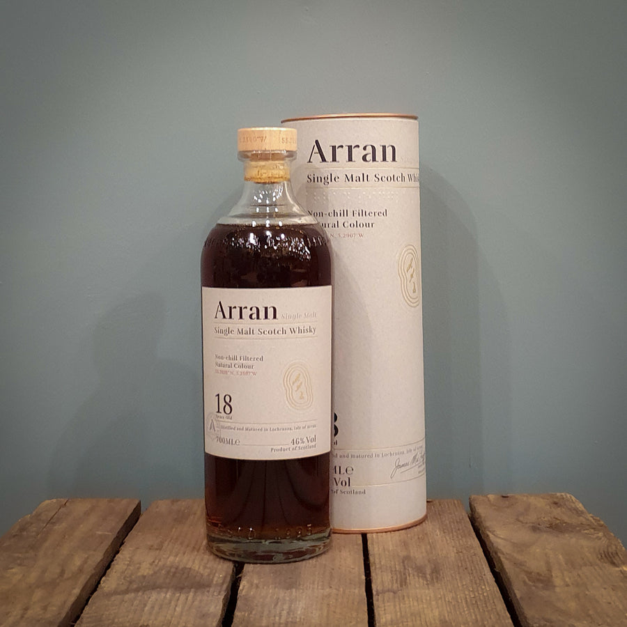 Arran 18 Year Old 70cl (46%)