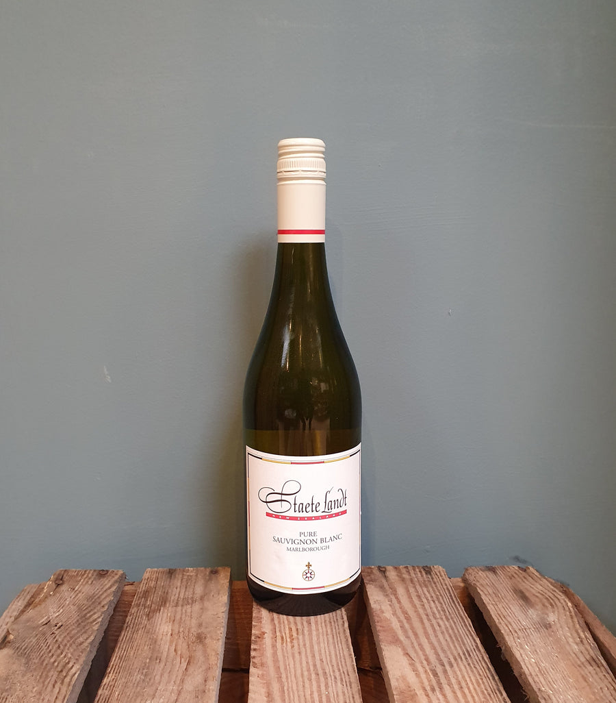 Staete Landt 'Pure' Sauvignon Blanc 2020, Marlborough, New Zealand (13%)
