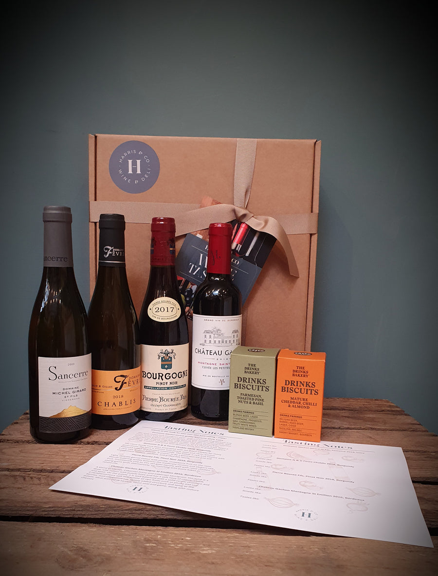 The Harris & Co 'Classic French' Tasting Pack (4 x 37.5cl)