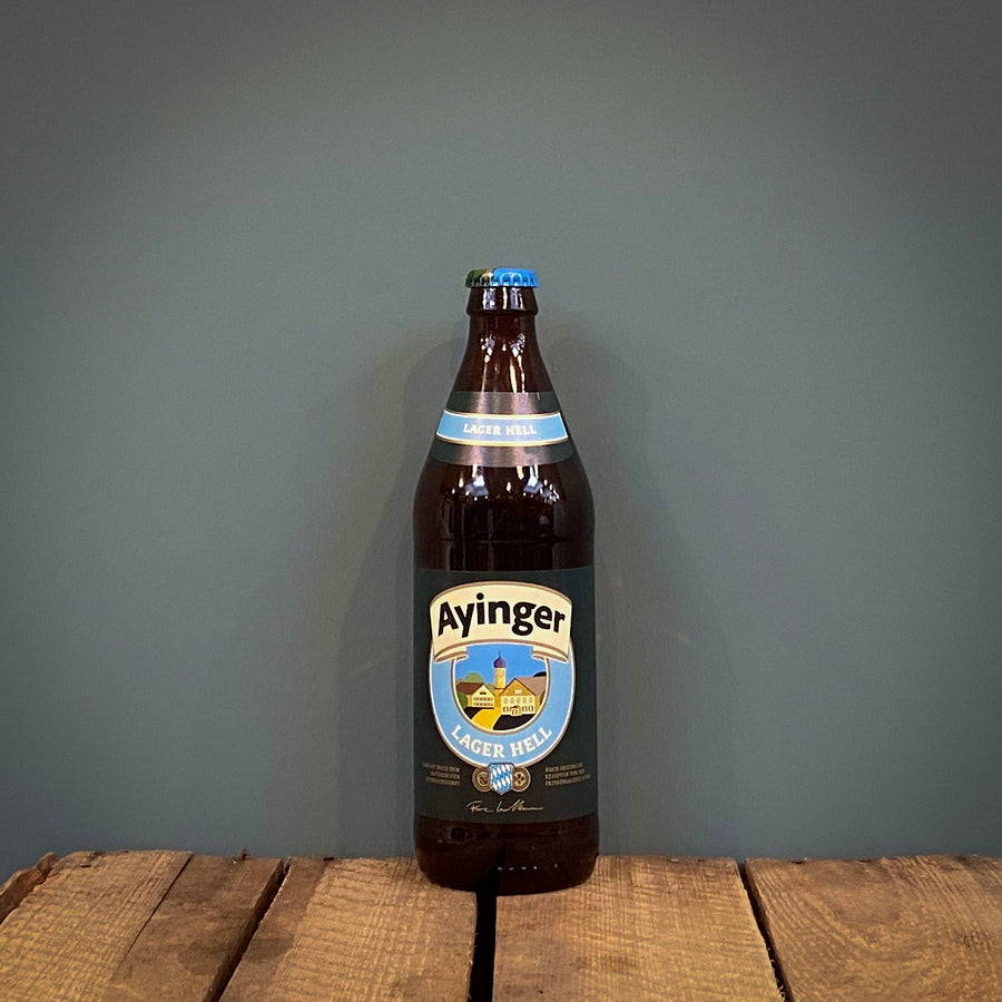 Ayinger Lager Hell 500ml, Germany (4.9%)