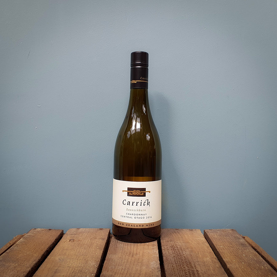 Carrick Winery Chardonnay 2016, Central Otago, New Zealand (14%)
