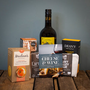 The Cheese & Wine Gift Package