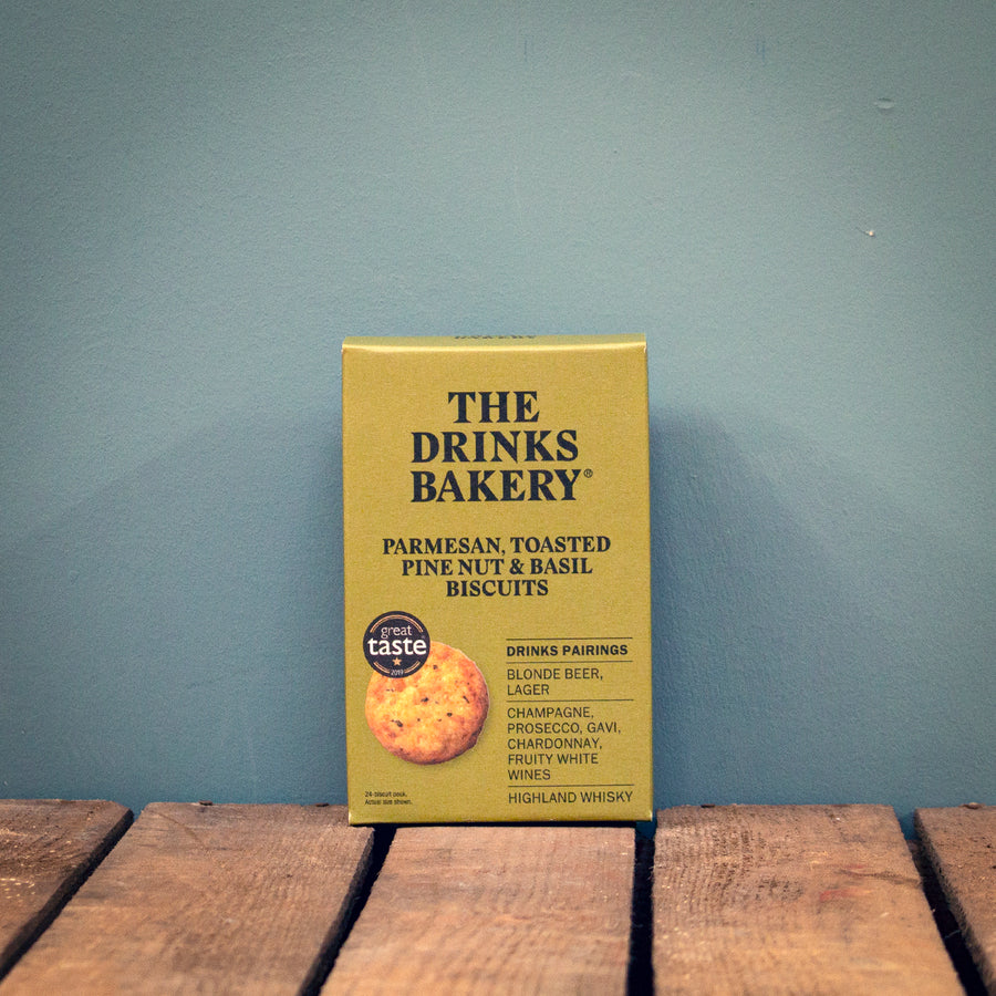 Drinks Bakery Parmesan, Toasted Pine Nut & Basil 110g