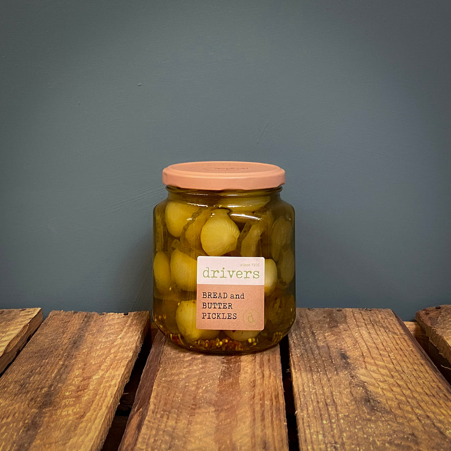Driver's Bread & Butter Pickles 550g