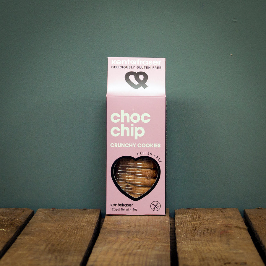 Kent & Fraser Choc Chip Cookies 125g