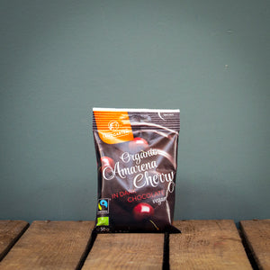 Landgarten Amarena Cherries with Dark Chocolate 70g