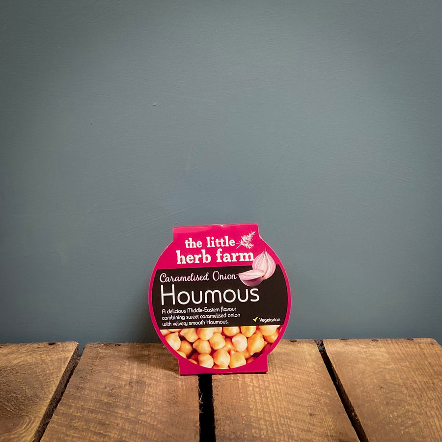 Little Herb Caramelised Onion Houmous 200g