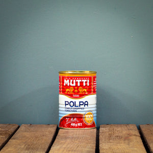 Mutti Polpa Finely Chopped Tomatoes 400g