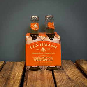 Fentimans Valencian Orange Tonic Water 4 x 200ml