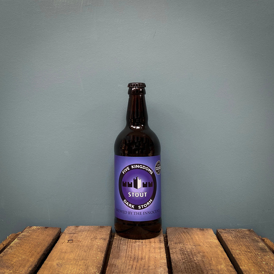 Five Kingdoms Dark Storm 500ml, Isle of Whithorn (6.9%)