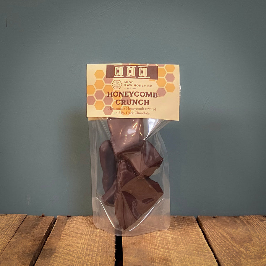 Co Co Co Dark Chocolate Honeycomb Crunch 85g
