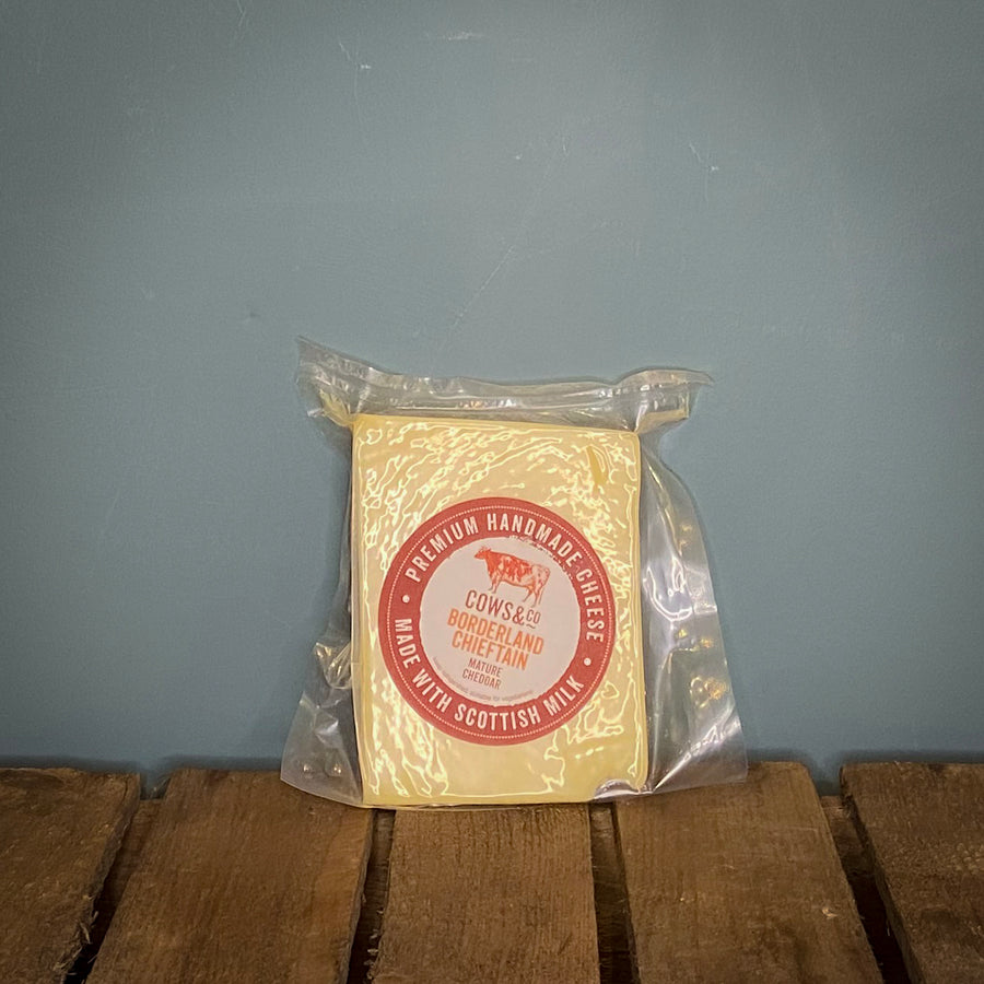 Cows & Co Vintage Borderland Chieftain Cheddar 200g