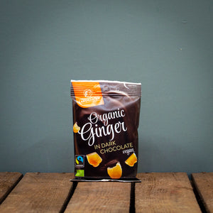 Landgarten Ginger with Dark Chocolate 70g