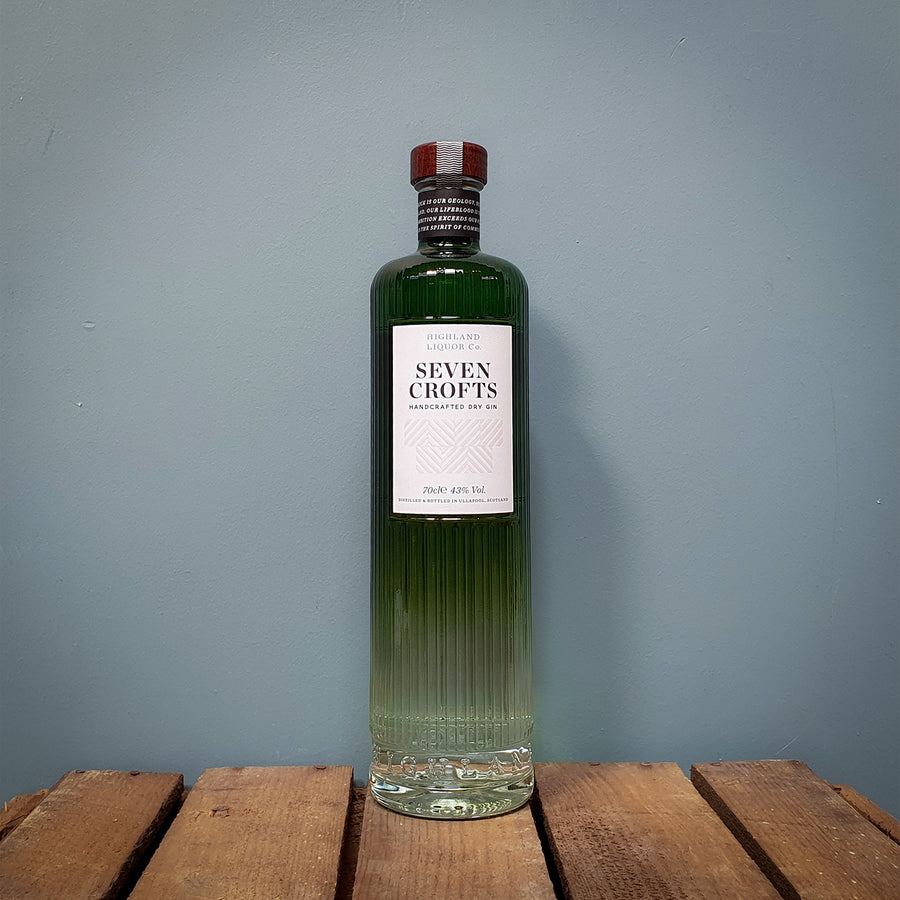 Highland Liquor Co. Seven Crofts Gin, Ullapool 70cl (43%)